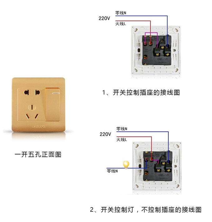 插座接线图是什么?如何看插座接线图?