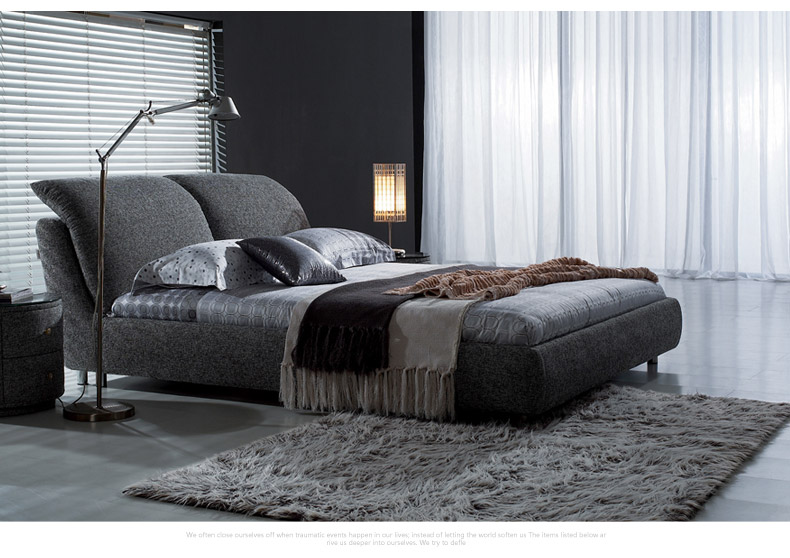 布艺床品牌有哪些?布艺床的购买技巧