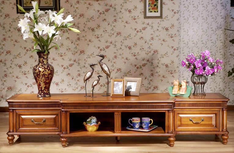 实木电视柜价格的参考 实木电视柜常识介绍