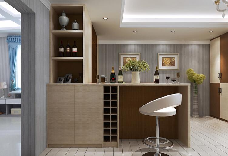 吧台柜的各种风格 吧台柜设计注意方面