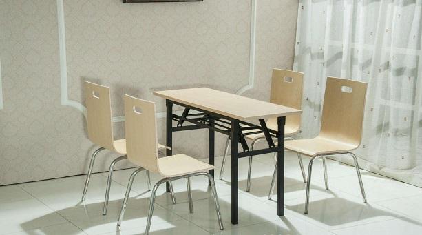 食堂餐桌尺寸如何选择?食堂餐桌怎么摆放?