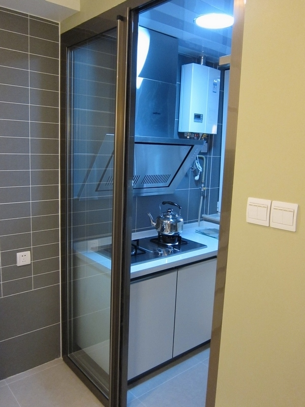 厨房推拉门尺寸的设计 厨房推拉门玻璃选购