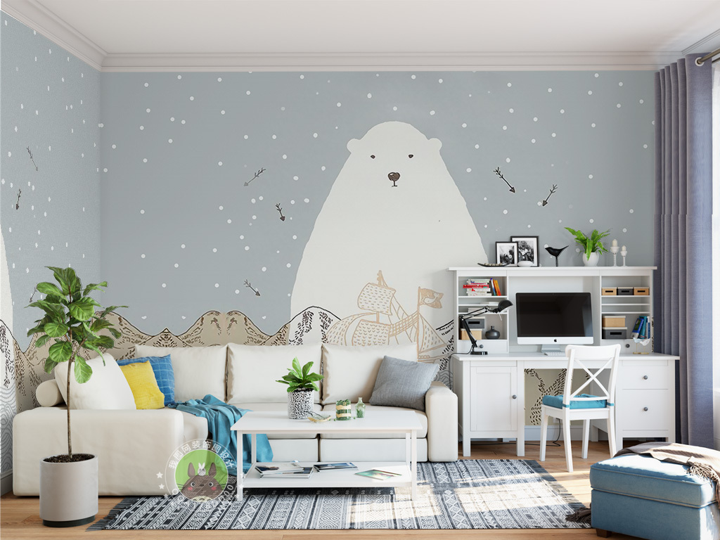 北欧风格儿童房装修特点 儿童房装修注意事项