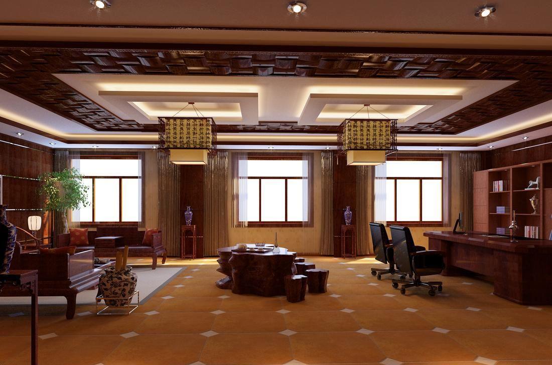 中式办公室装修关键点 办公室装修风水