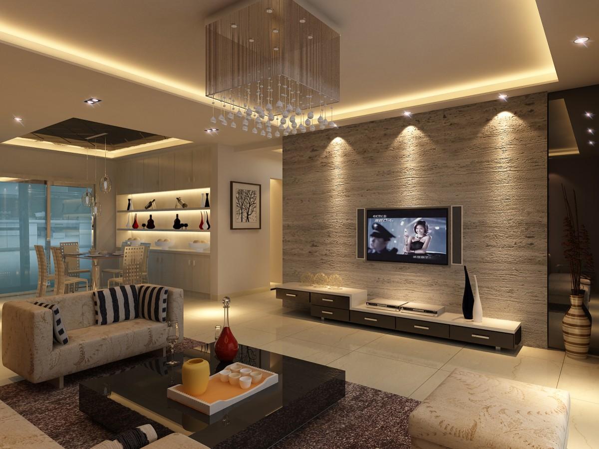 四种室内装修电视墙介绍  室内装修电视墙攻略