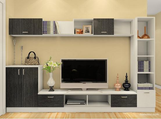 客厅电视柜尺寸多大?客厅电视柜有哪些风格?