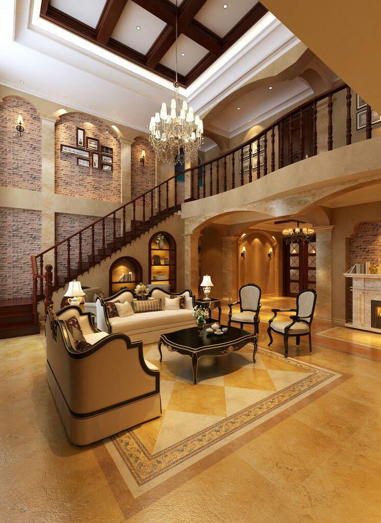 对于别墅的设计和其它户型的设计有些不同,因为别墅空间比