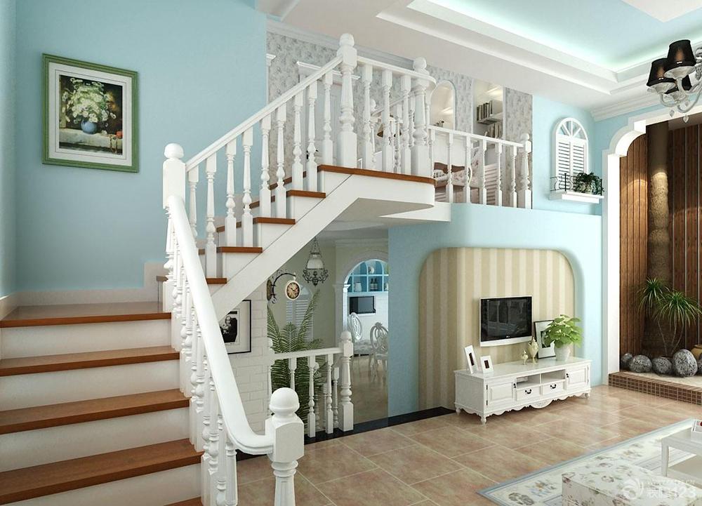 小户型复式楼梯装修设计 小户型复式楼梯装修要点