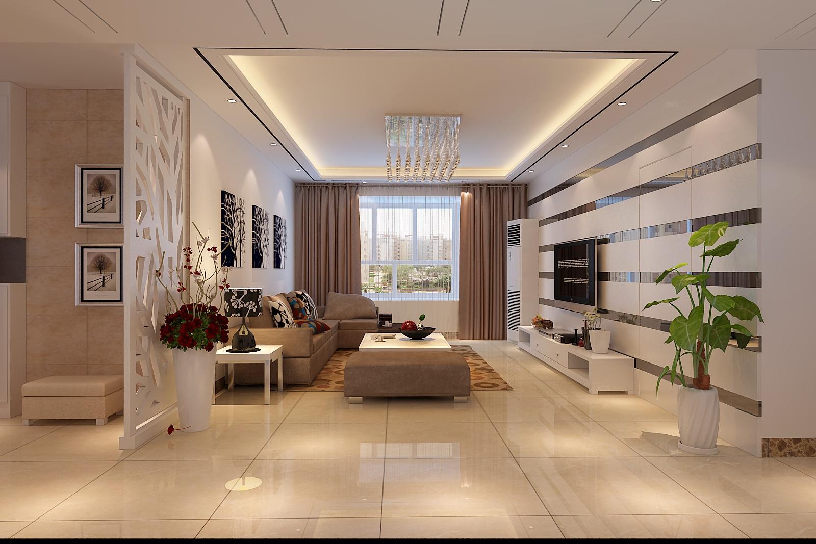 客厅吊顶高度多少合适?客厅吊顶的设计要点