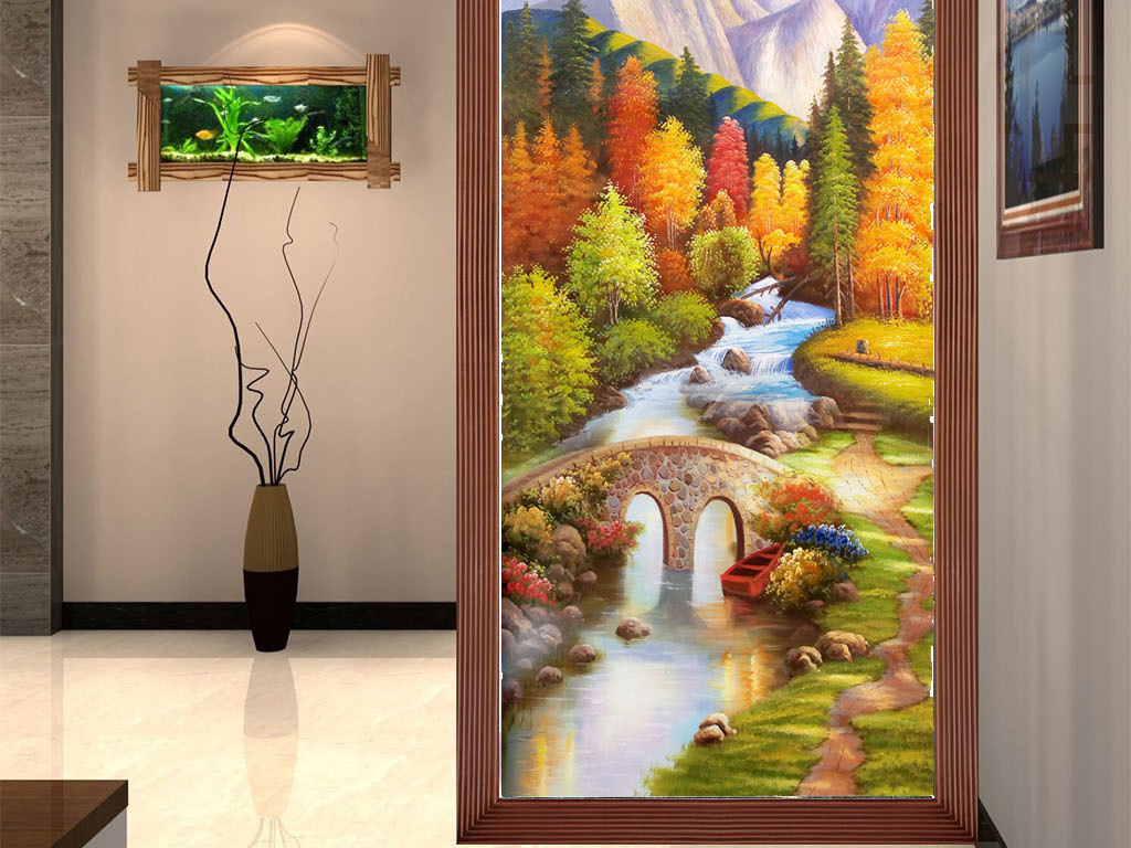 玄关欧式油画的搭配 玄关欧式油画的选购技巧
