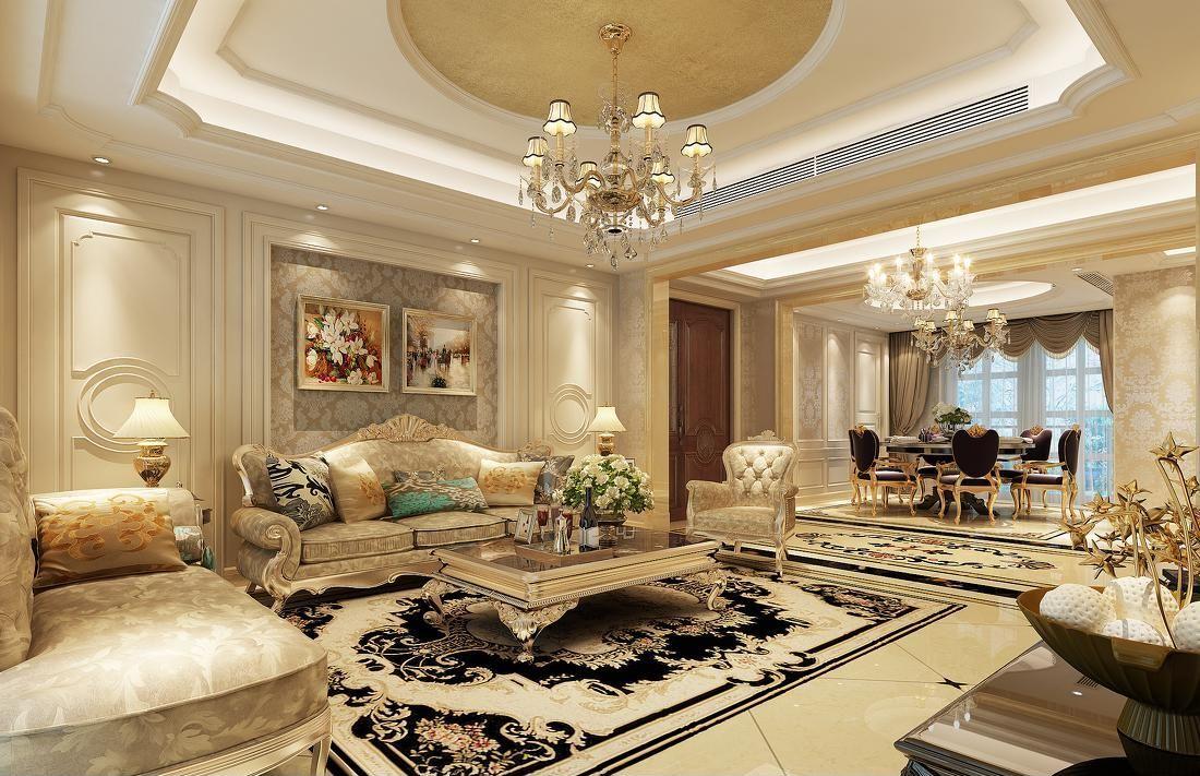 简欧客厅装修效果图 简欧客厅的装修要素