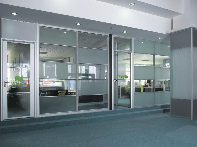 铝合金隔断释义 铝合金隔断特点型号材料选择