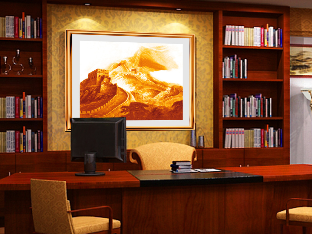 办公室挂什么画风水好?办公室挂画注意事项