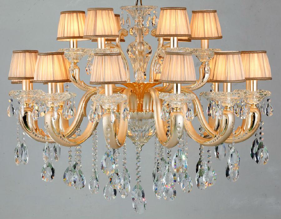 施华洛世奇水晶灯选购技巧      水晶灯的特点