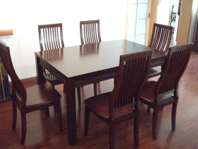 6人长方形餐桌尺寸 6人长方形餐桌优点介绍