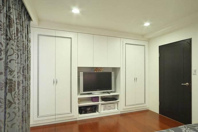 如何设计卧室衣柜电视柜一体化? 其尺寸是多少?