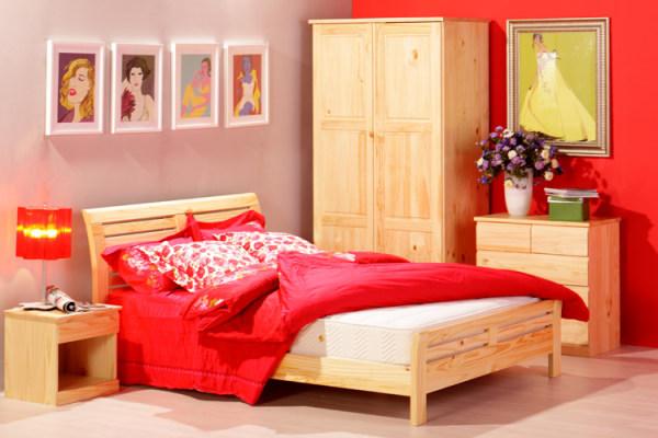 松木双层床的优缺点介绍  选购技巧和注意事项