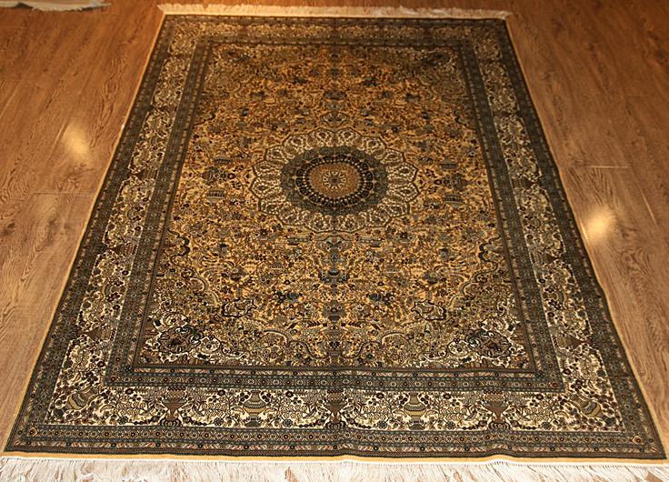 纯手工羊毛地毯优点 纯手工羊毛地毯选购技巧