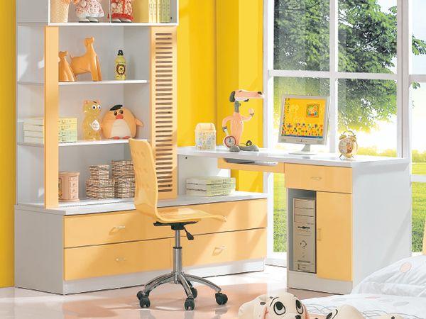 儿童书桌书柜组合有哪些?书桌书柜选购技巧