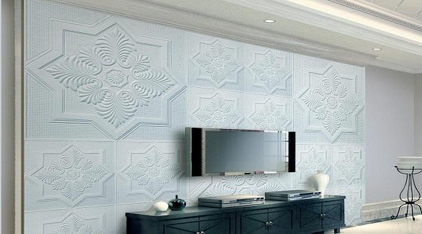 石膏线电视墙造型优点 石膏线电视墙造型分类