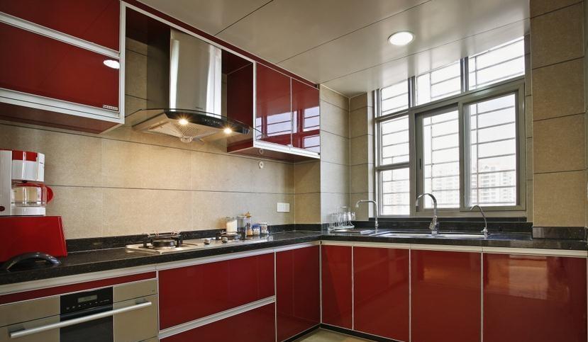 厨房整体橱柜效果图     厨房整体橱柜选购