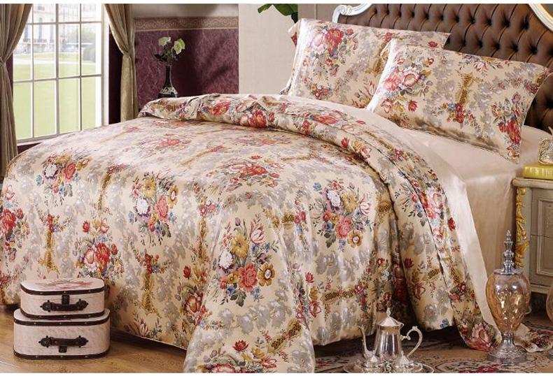 什么样的真丝床上用品四件套比较的舒适?养护