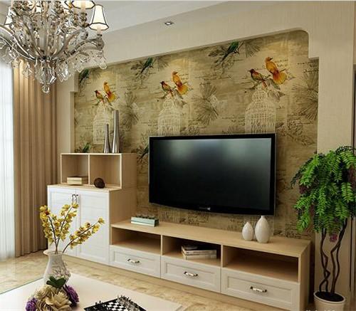 电视墙壁纸效果图大全,电视墙壁纸效果图赏析
