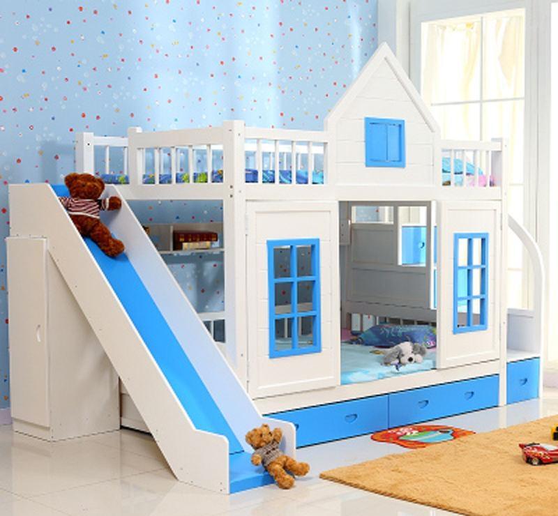 带滑梯的儿童床品牌 带滑梯的儿童床挑选方法