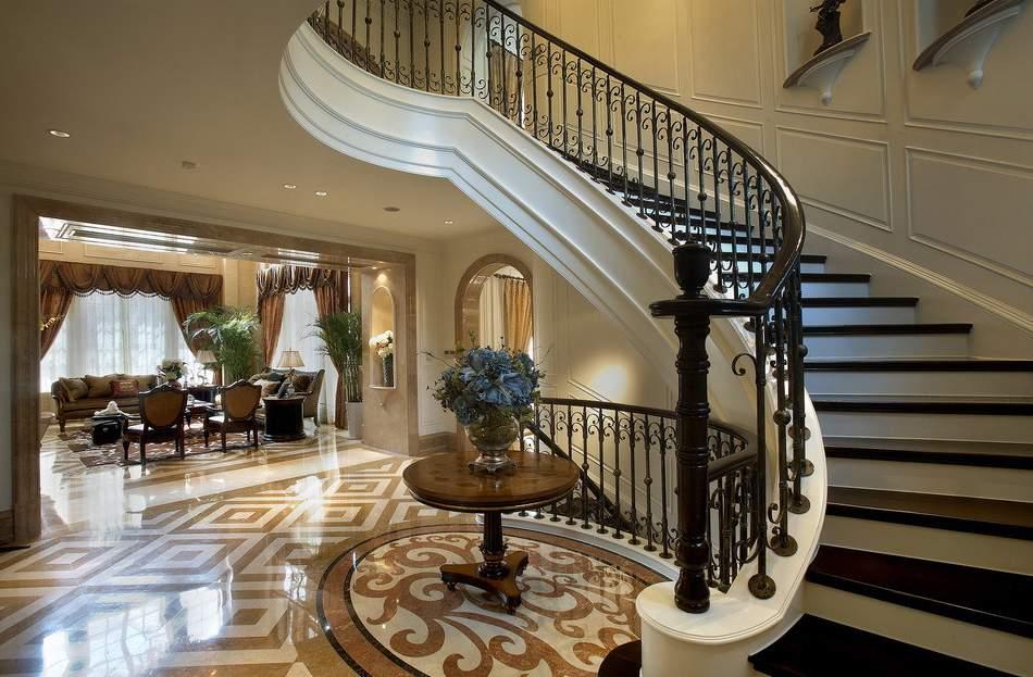别墅楼梯设计图分析 别墅楼梯设计要点图片