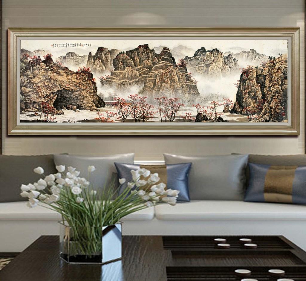 客厅装饰画风水禁忌   客厅装饰画如何选择