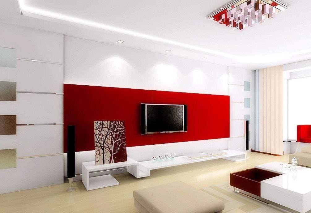 客厅电视背景墙设计要点  客厅电视背景墙设计技巧