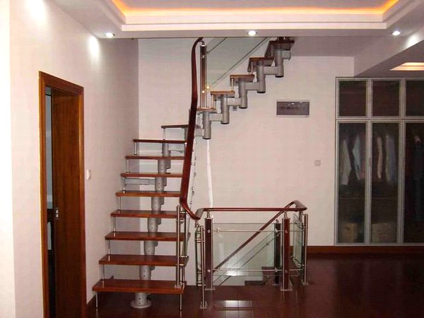 阁楼楼梯图片-装修之家学装修