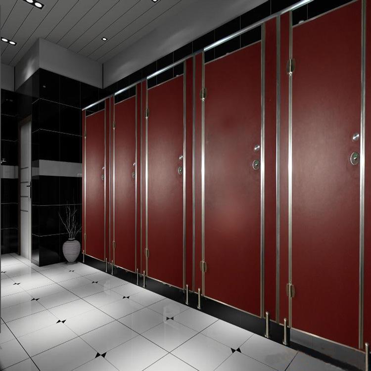 厕所隔断的尺寸一般多少?厕所隔断的材质