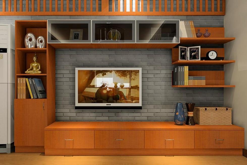 客厅电视柜效果图  电视柜选购要点
