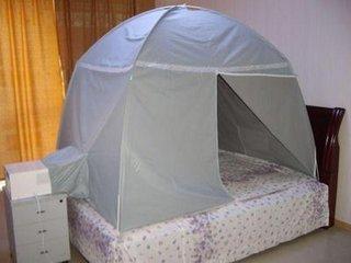 蚊帐空调--完美解决你的夏季睡眠问题!