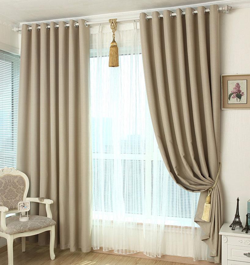 窗帘亚麻好还是雪尼尔好 怎么安装窗帘