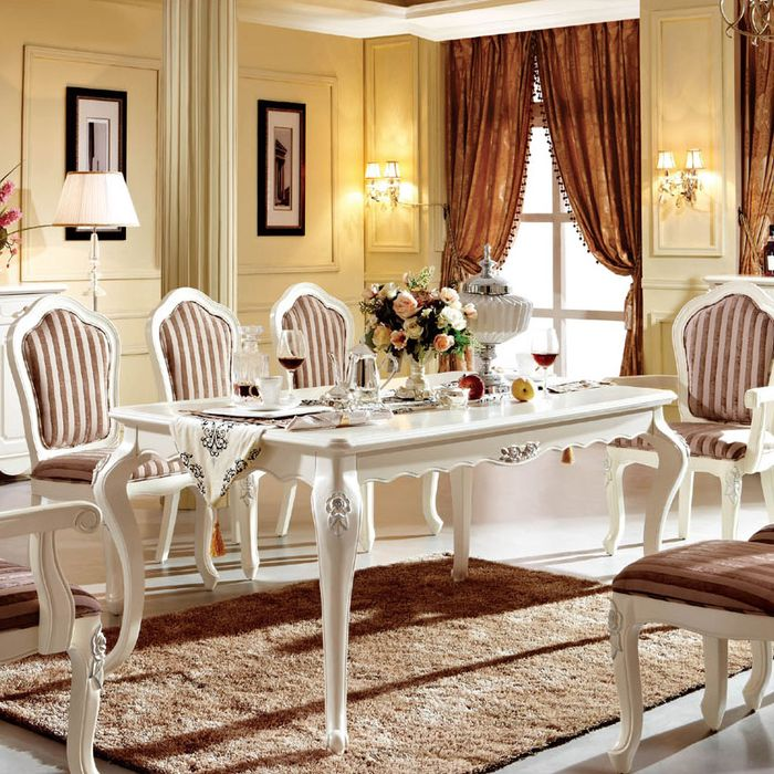 西餐桌的尺寸一般多少?西餐桌选购注意事项