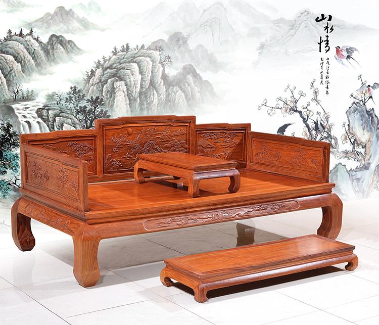 红木家具罗汉床怎么样   罗汉床选购技巧