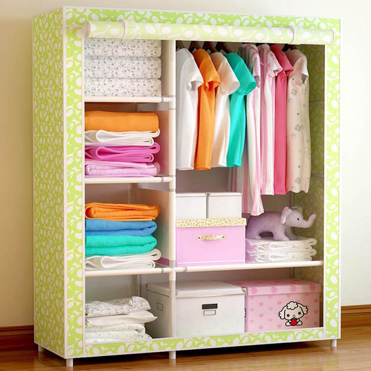 简易衣柜布衣柜多少钱 怎么选择布衣柜