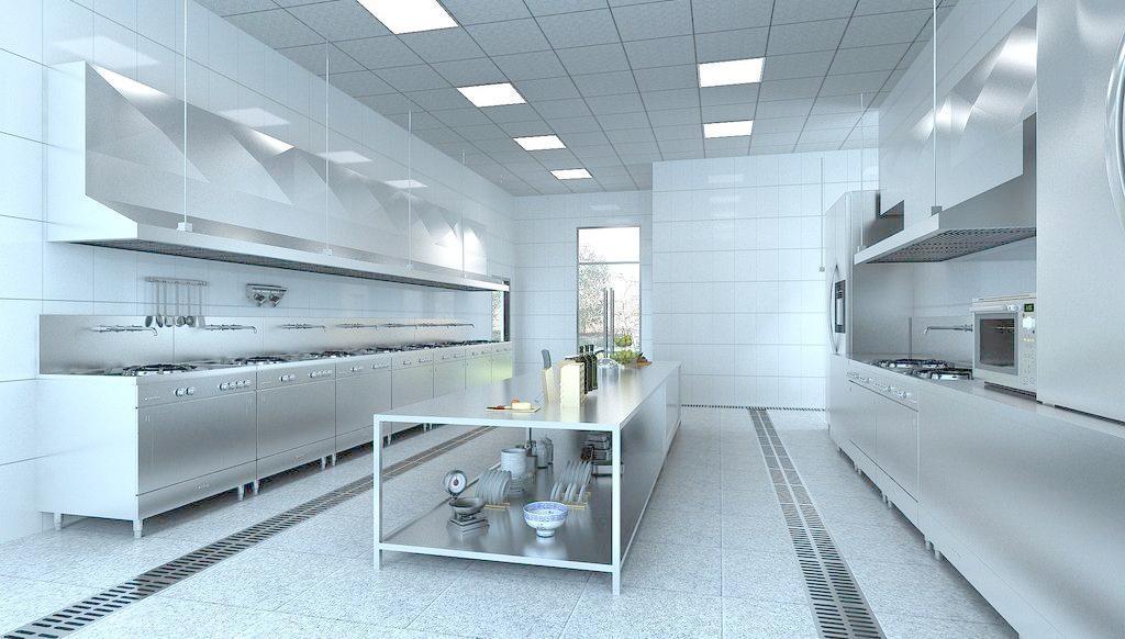 饭店厨房装修设计技巧 厨房吊顶装修设计