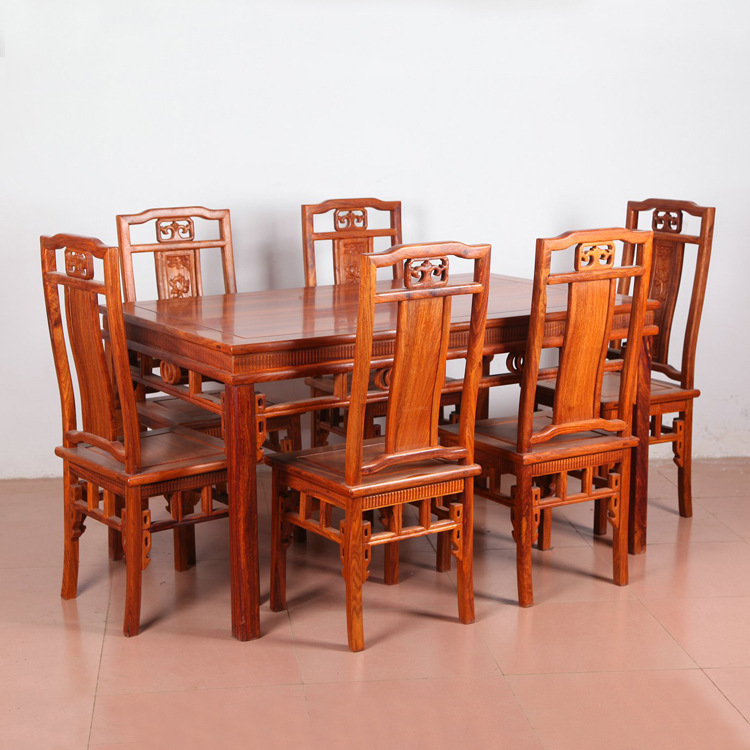 红木餐桌椅报价是多少?红木品牌有哪些?