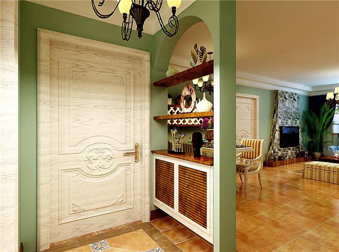 进门玄关隔断如何做?用家具做玄关隔断要谨慎