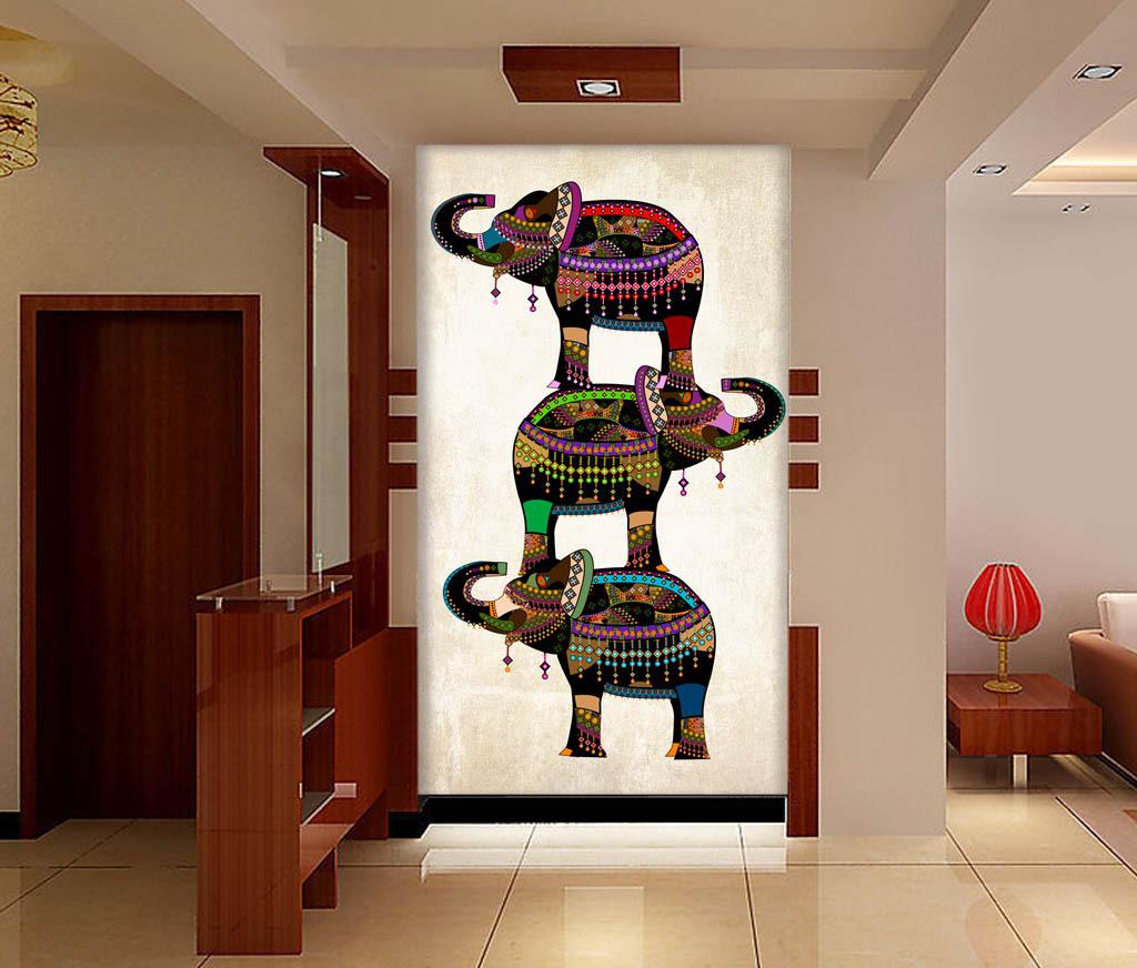进门玄关画有什么讲究  玄关画悬挂注意事项