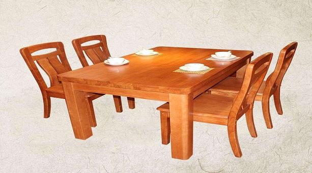 实木餐桌表面处理,实木餐桌购买技巧