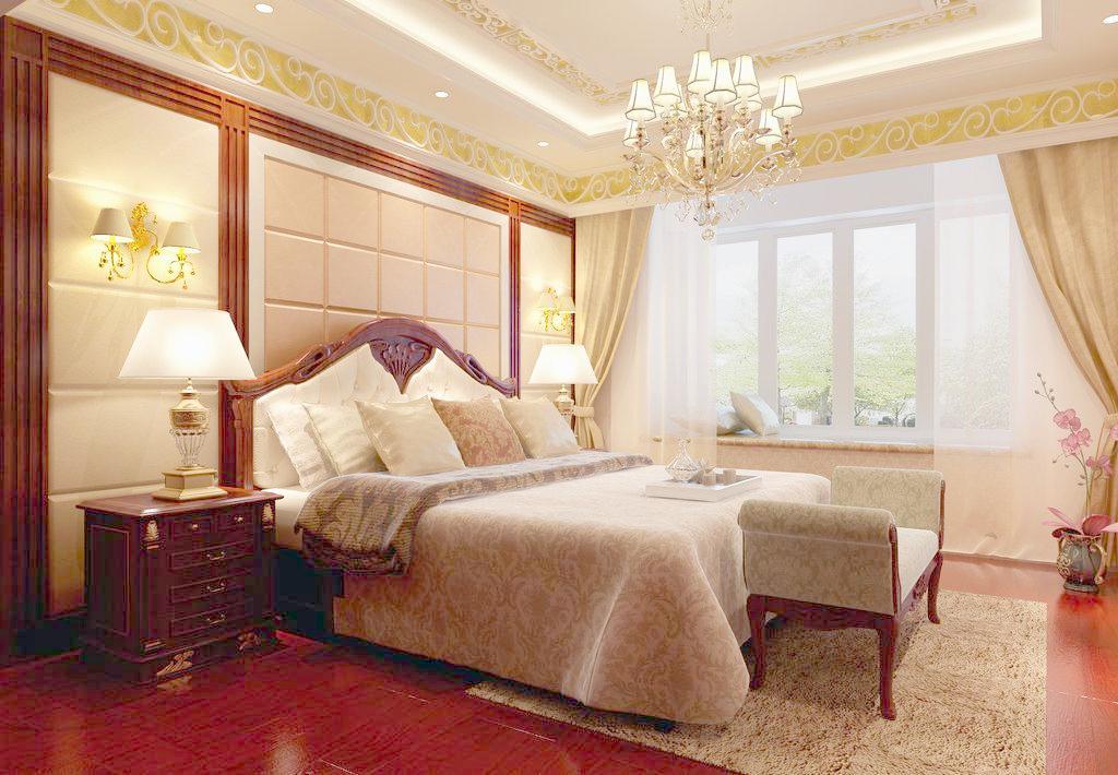 欧式主卧室装修效果图 欧式主卧室装修技巧