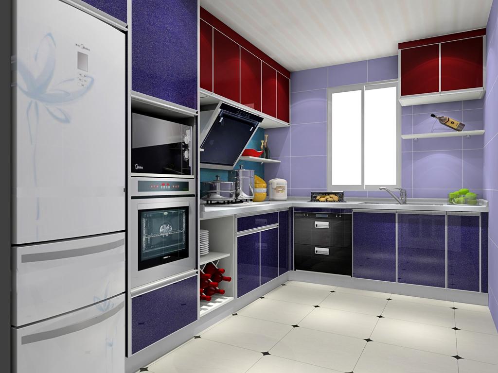 整体厨房装修效果图片  整体厨房装修设计方法