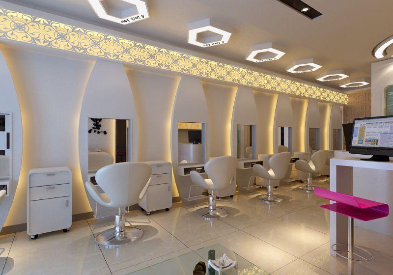 小型理发店室内装修,理发店如何装修