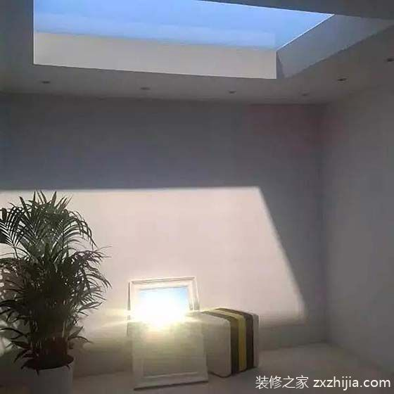 夜空中最亮的星 10款室内天窗设计图图片