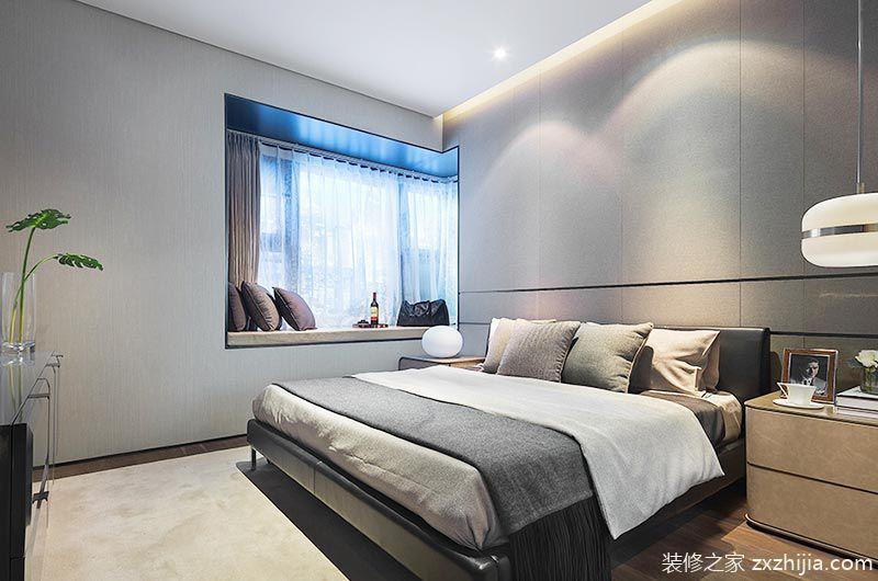 现代简约风格样板房装修 低调轻奢新东方