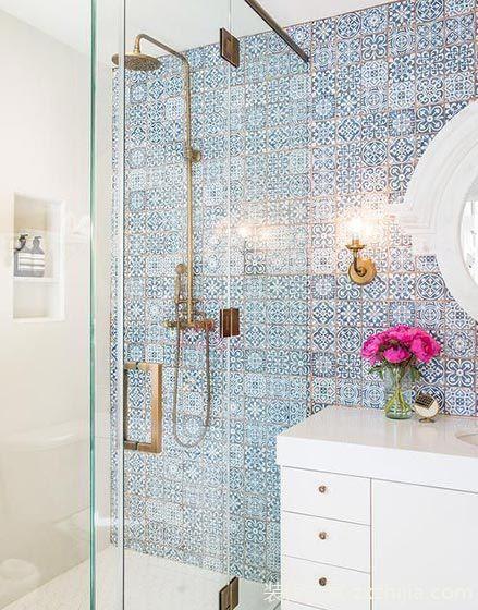 百搭设计元素 10款浴室马赛克背景墙图片